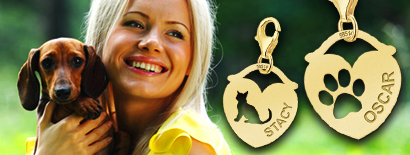 Charms mit Tiere - Gold